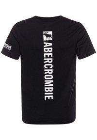 Abercrombie & Fitch - FLEX ITEM  - Print T-shirt - black - 1