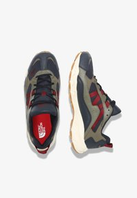 The North Face - M ARCHIVE TRAIL KUNA CREST - Trainers - urban navy/burnt olve grn - 1
