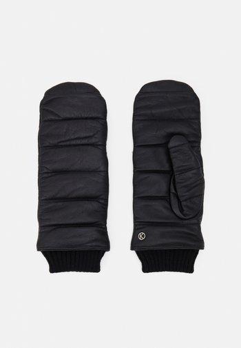 Rękawiczki z jednym palcem - black