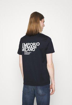 T-shirt z nadrukiem - blu navy