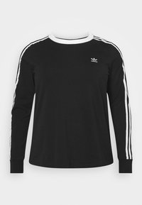 adidas Originals - Long sleeved top - black/white - 3