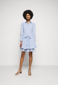 Steffen Schraut - BROOKE FANCY DRESS - Shirt dress - sky blue - 1