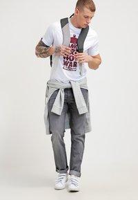 Lee - DAREN  - Jeans straight leg - storm grey - 1