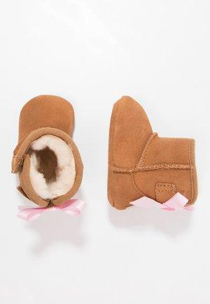 JESSE BOW II - Babyschoenen - chestnut