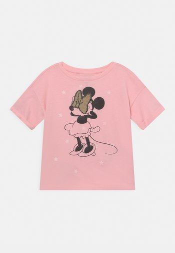 DISNEY MINNIE MOUSE GIRLS - Camiseta estampada - light shell pink