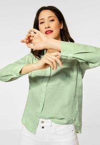 Street One - Button-down blouse - grün - 2