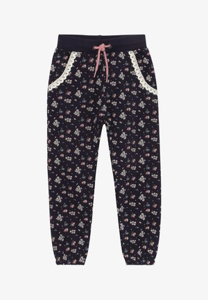 KIDS FLORAL PRINT - Trainingsbroek - dark blue