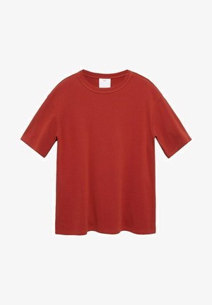 RELAXED FIT - T-shirt basic - rouge