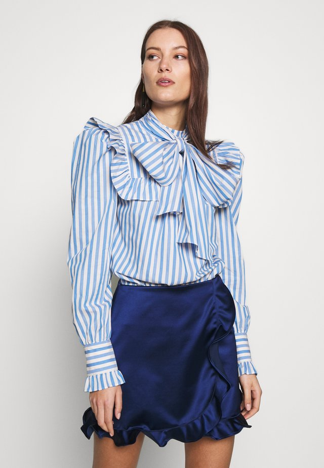VIVICA STRIPES - Blouse - blue