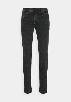 ANBASS HYPERFLEX REUSED - Slim fit jeans - dark grey