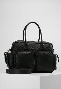 Kidzroom - VISION OF LOVE DIAPERBAG - Baby changing bag - black - 0