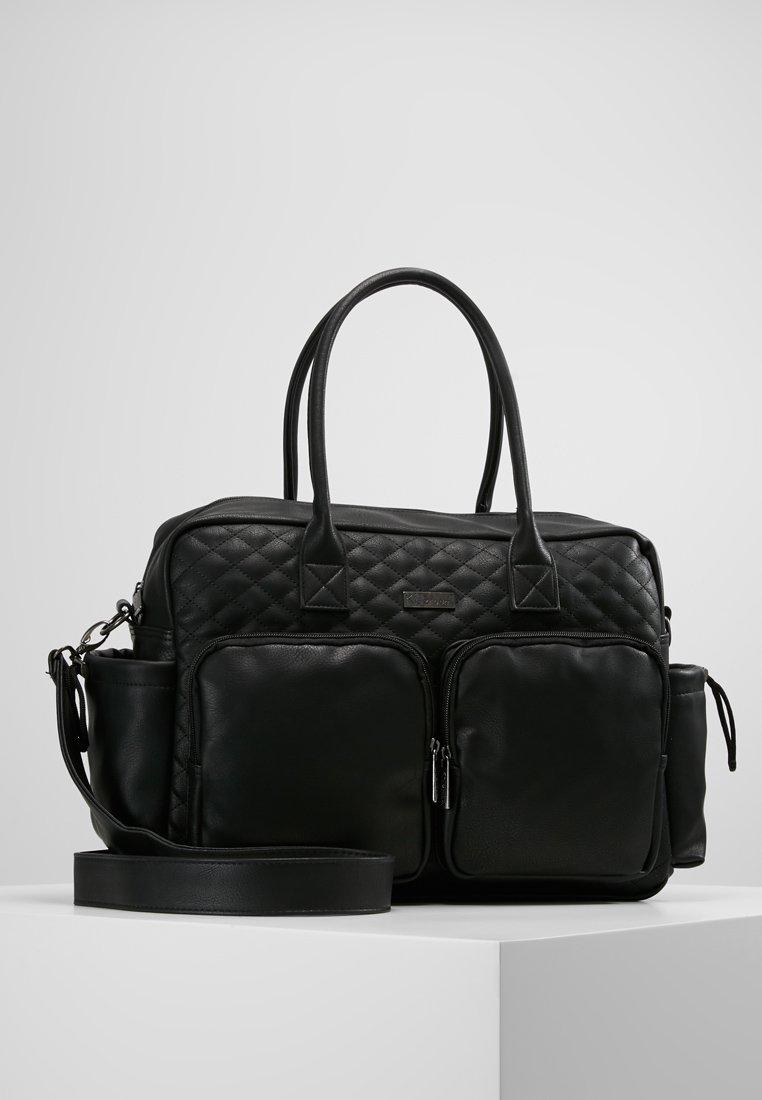 Kidzroom - VISION OF LOVE DIAPERBAG - Baby changing bag - black