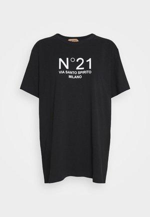 NEW LOGO TEE - Print T-shirt - nero