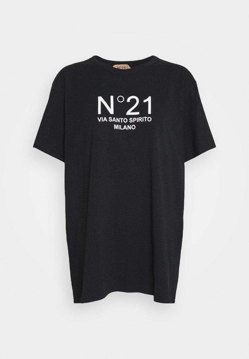 N°21 - NEW LOGO TEE - Print T-shirt - nero