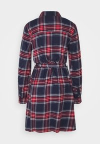 Noisy May - NMERIK   - Shirt dress - dark blue, red, white