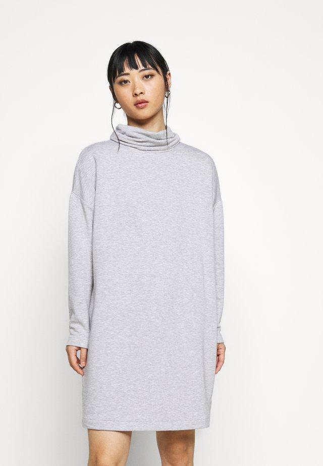 DRESS - Denní šaty - heather grey