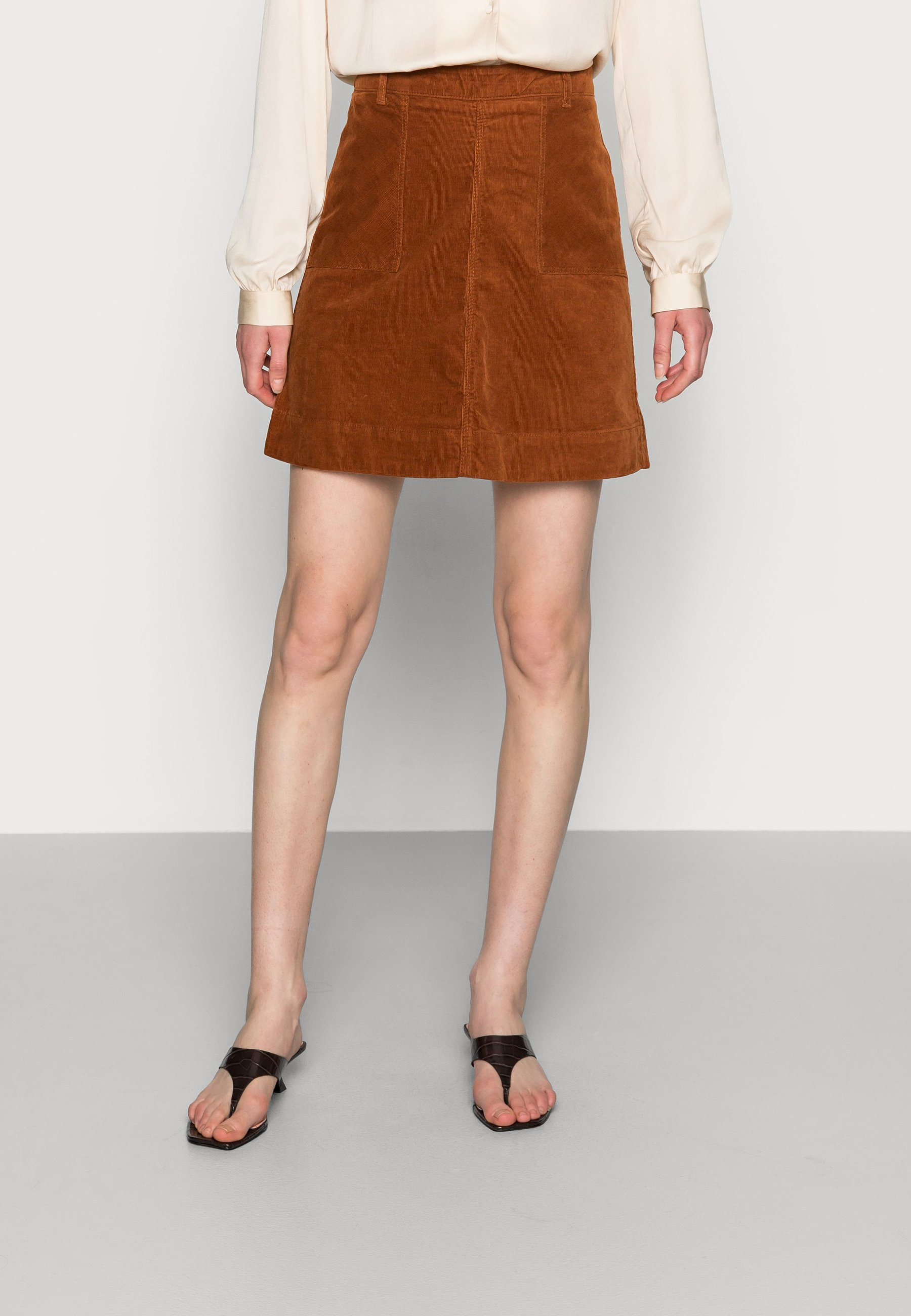 Femme VICTORIA SOLID SKIRT - Minijupe