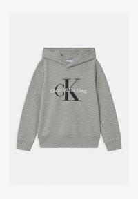 Calvin Klein Jeans - MONOGRAM HOODIE UNISEX - Hoodie - grey - 0