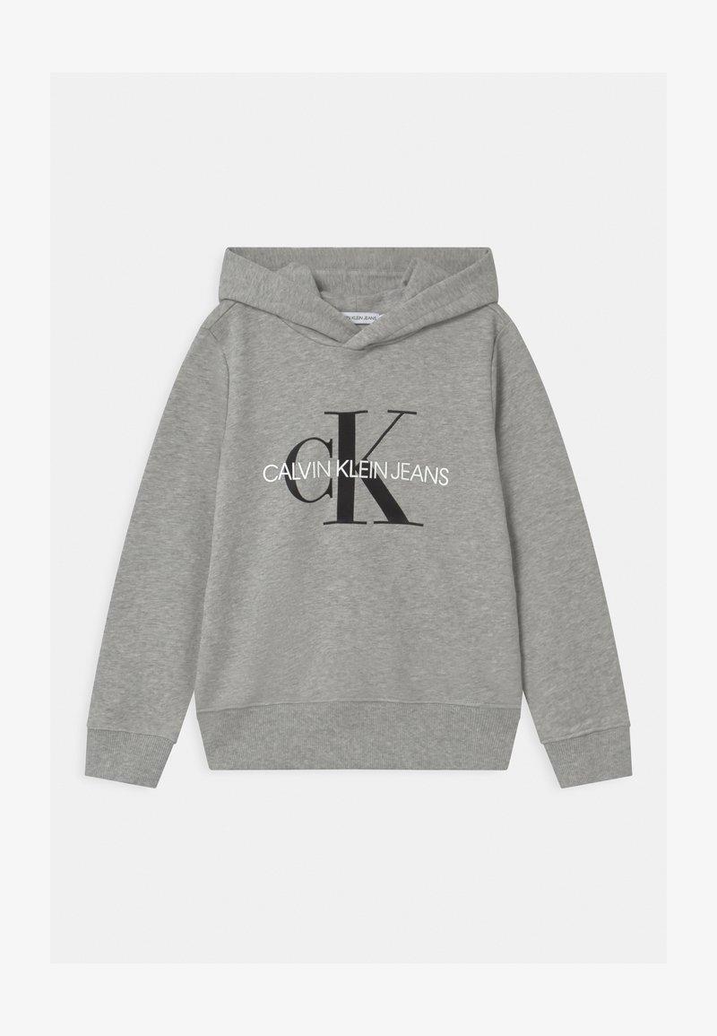 Calvin Klein Jeans - MONOGRAM HOODIE UNISEX - Hoodie - grey