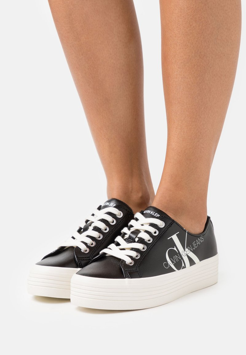 Calvin Klein Jeans - ZESLEY - Sneakersy niskie - black