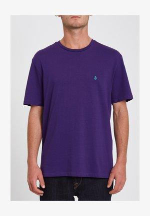 STONE BLANKS - T-shirt basic - violet_indigo