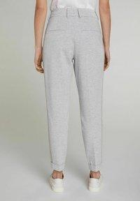 Oui - Trousers - light grey - 2