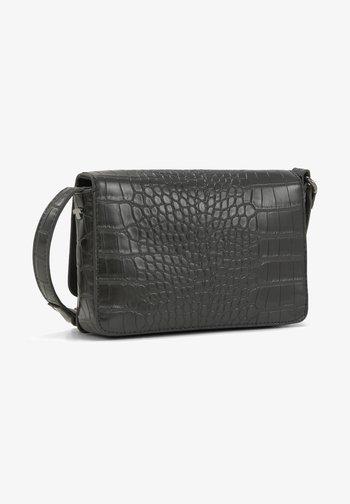 MARIS GEPRÄGTE - Wash bag - croco black
