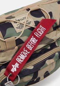 Alpha Industries - TACTICAL WAIST BAG UNISEX - Bum bag - brown - 3