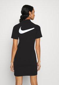 Nike Sportswear - DRESS - Jerseykjoler - black/white - 2