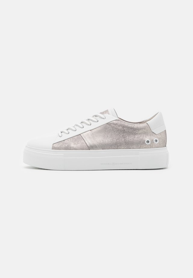 BIG - Sneakers laag - bianco/silver