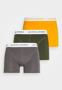 Jack & Jones - JACKRIS TRUNKS 3 PACK  - Onderbroeken - rifle green - 4