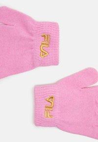 Fila - BASIC GLOVES UNISEX - Gloves - lilac sachet - 2