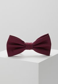 Tommy Hilfiger - MICRO DESIGN BOWTIE - Bow tie - red - 0