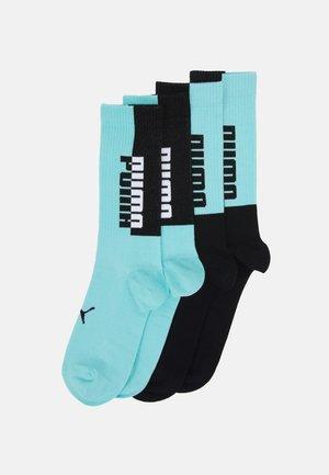 MEN SEASONAL SOCK 4 PACK - Sportovní ponožky - blue/black