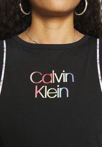 Calvin Klein - PRIDE DRESS - Jerseyjurk - black - 5
