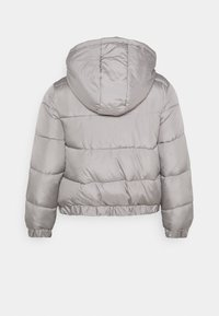 Missguided Plus - HOODED PUFFER JACKET - Winter jacket - grey - 1