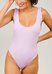Girls in Paris - Swimsuit - purple - 0