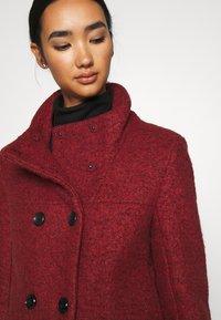 ONLY - SOPHIA - Zimní kabát - fired brick/melange - 6