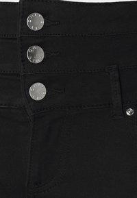 ONLY - ONLROYAL LIFE CORSAGE PIM - Jeans Skinny Fit - black denim - 5