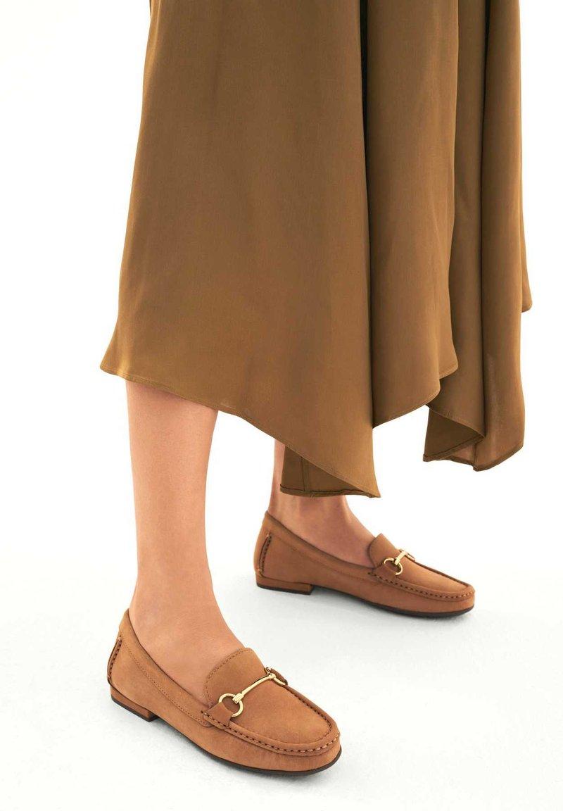 Kazar - JANA - Moccasins - Light brown