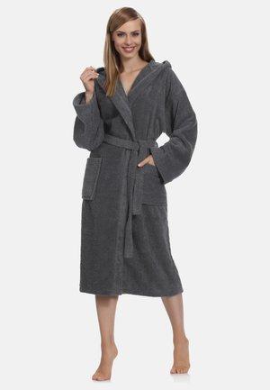 Dressing gown - dark grey