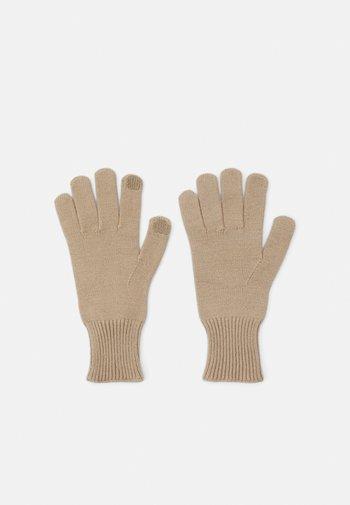 PCCAROLA SMART GLOVES - Gloves - silver mink