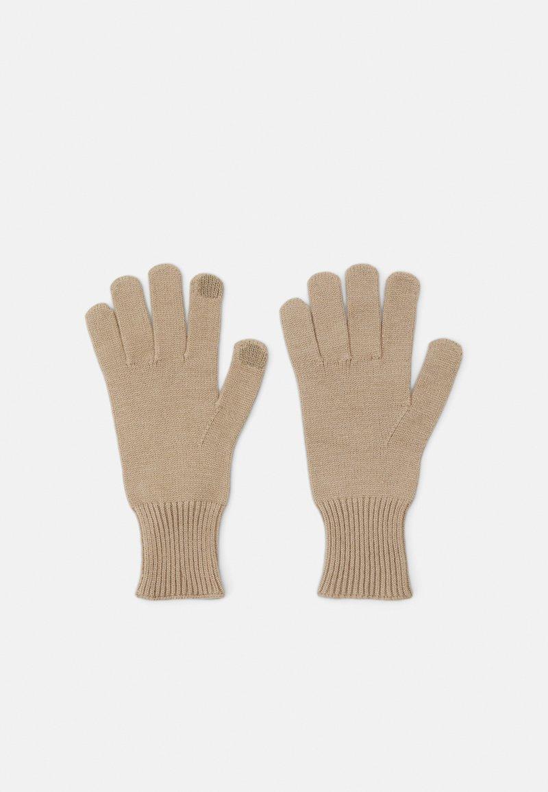 Pieces - PCCAROLA SMART GLOVES - Gloves - silver mink
