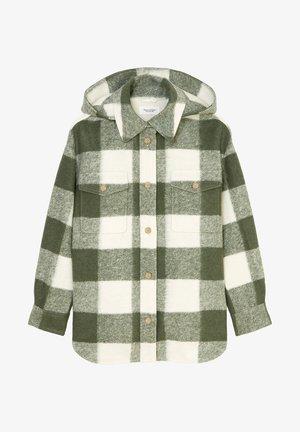 Short coat - multi olivia gray
