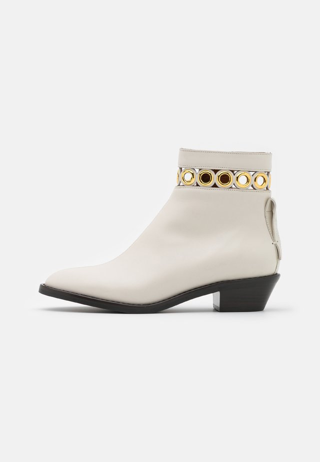 STEFFI BOOTIE - Classic ankle boots - natural
