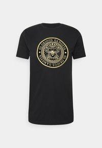 Glorious Gangsta - BERTO TEE - T-shirt con stampa - black - 4