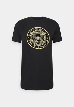 BERTO TEE - Camiseta estampada - black