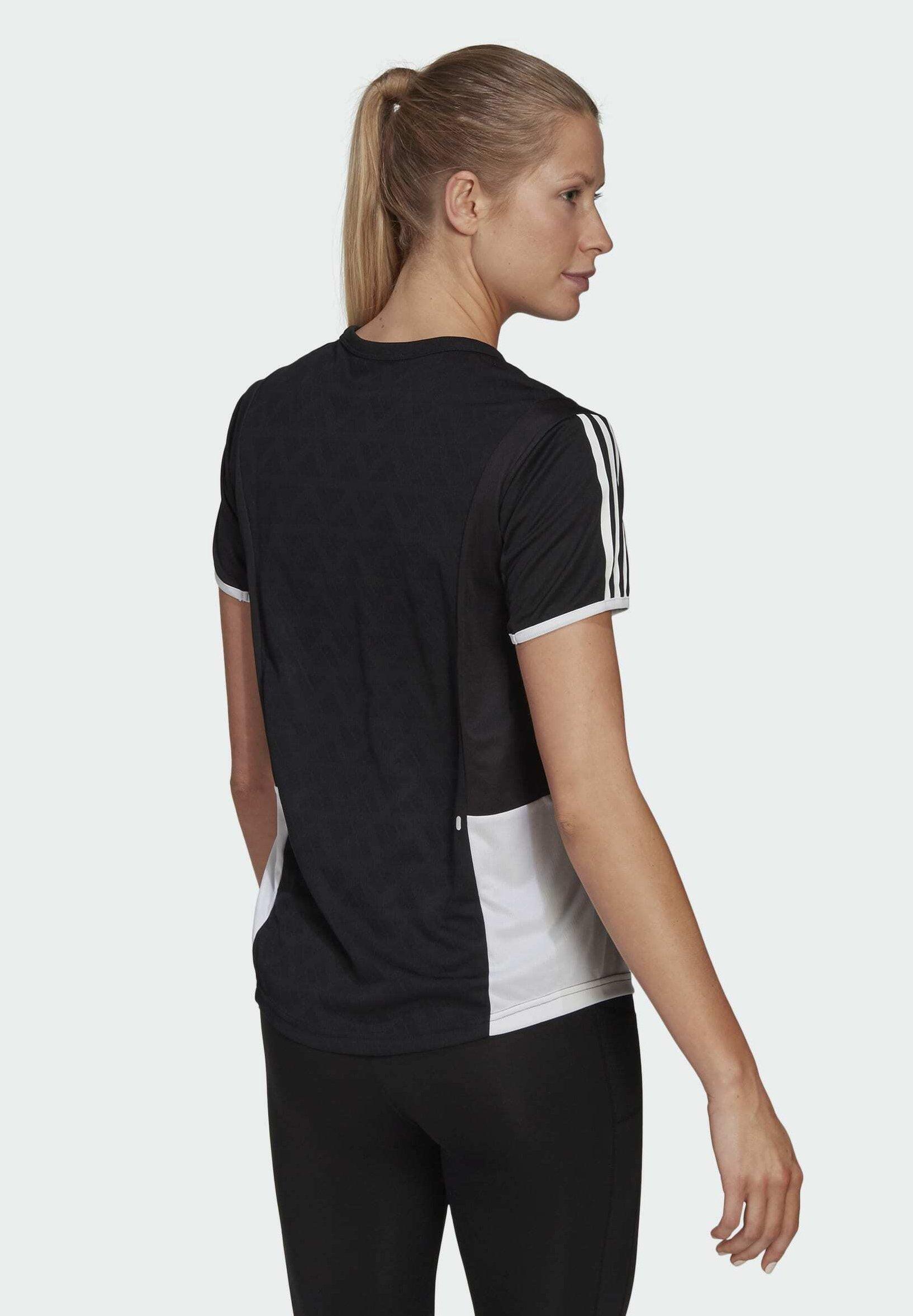 Women OWN THE RUN 3-STRIPES ITERATION T-SHIRT - Print T-shirt