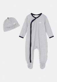 BOSS - SET UNISEX - Sleep suit - navy - 0