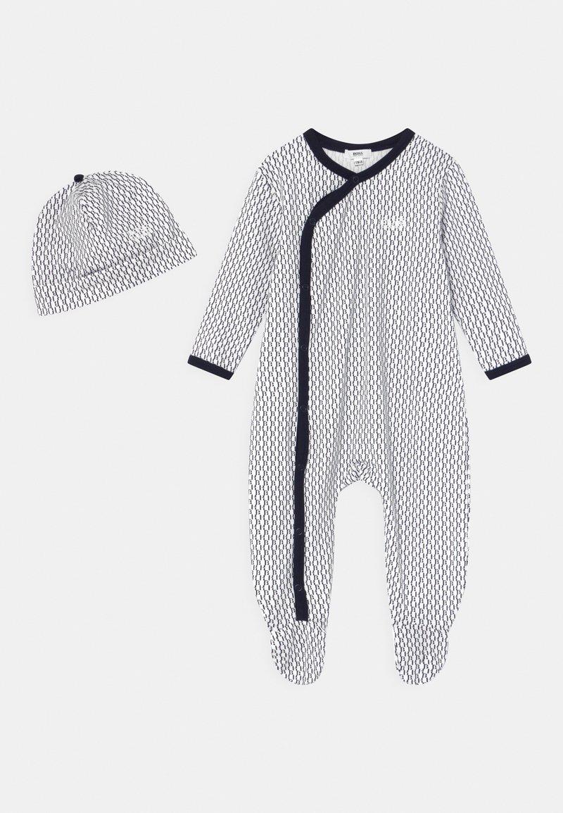 BOSS - SET UNISEX - Sleep suit - navy